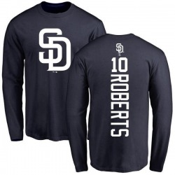Youth Bip Roberts San Diego Padres Backer Long Sleeve T-Shirt - Navy